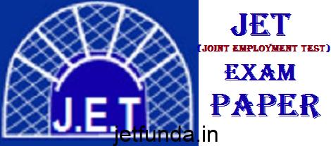 JET Exam paper, JET Exam, JET Exam questions