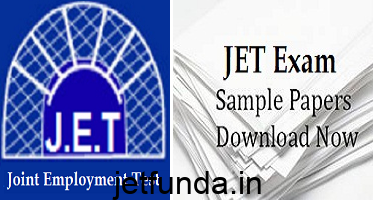JET Exam model paper, JET Exam old paper, JET Exam sample paper