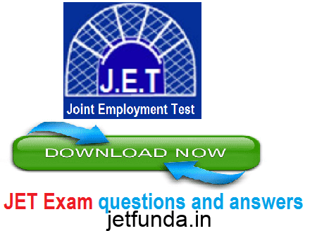 jet exam questions and answers