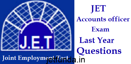 JET Exam last year questions, JET Exam, JET Exam previous year questions
