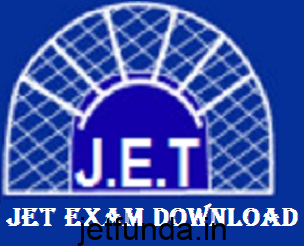 JET Exam Admit card download