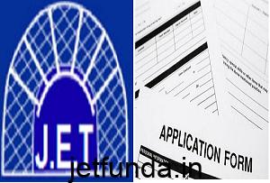 JET Exam form, JET Exam, JET Exam application form