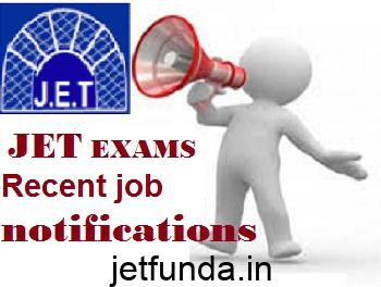 JET Exam latest notification