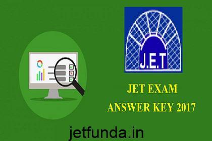 JET Exam anser key