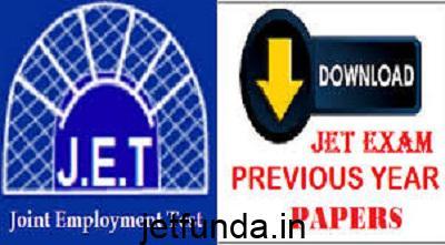 JET Exam , Joint employment test, jet exam sample paper