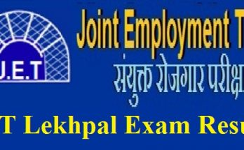 JET Lekhpal Exam Result