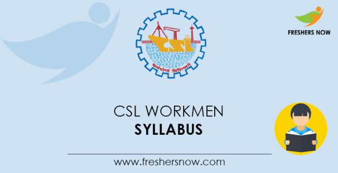CSL-Workmen-Syllabus