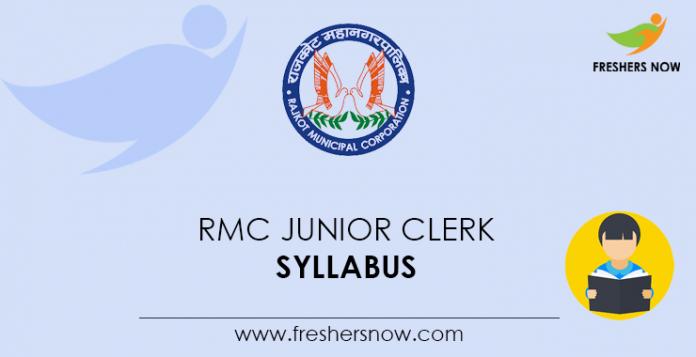 RMC-Junior-Clerk-Syllabus