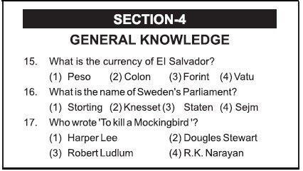 AIMA UGAT Syllabus Section 4