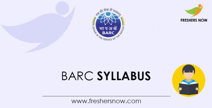 BARC-Syllabus
