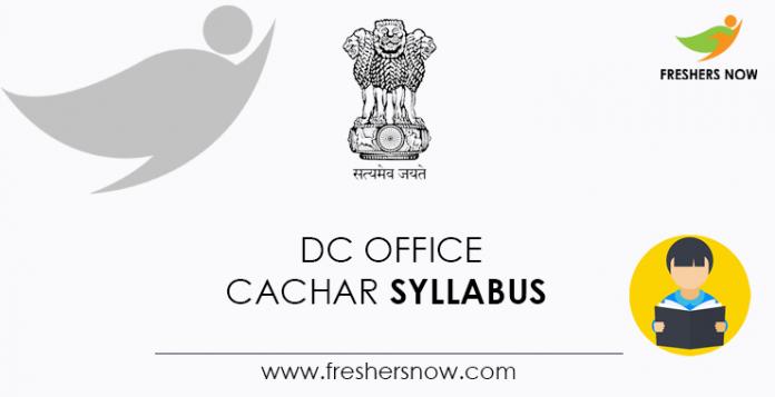 DC-Office-Cachar-Syllabus