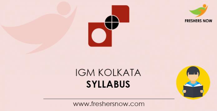 IGM-Kolkata-Syllabus