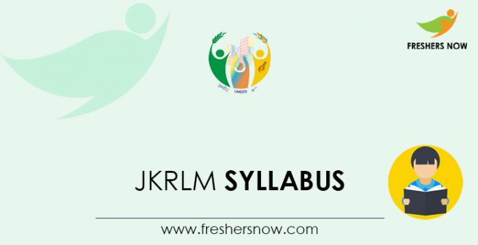 JKRLM-Syllabus