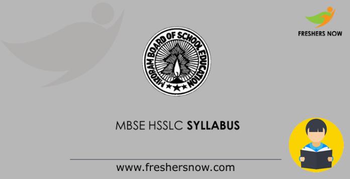 MBSE-HSSLC-Syllabus
