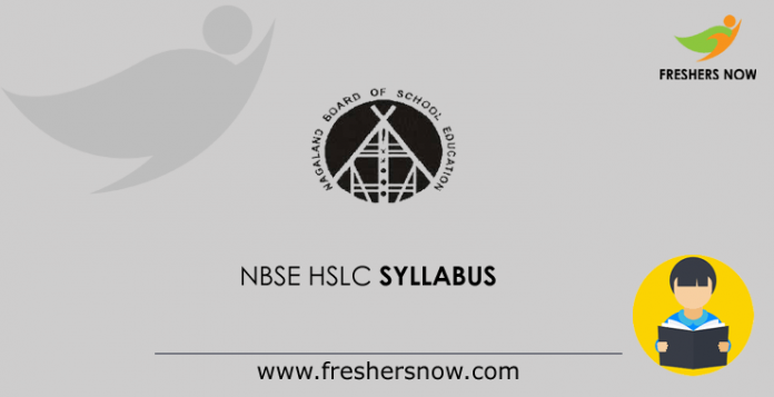 NBSE-HSLC-Syllabus