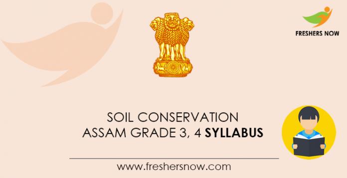 Soil-Conservation-Assam-Grade-3,-4-Syllabus