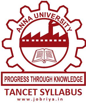 TANCET Syllabus