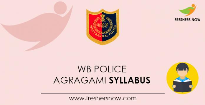 WB-Police-Agragami-Syllabus