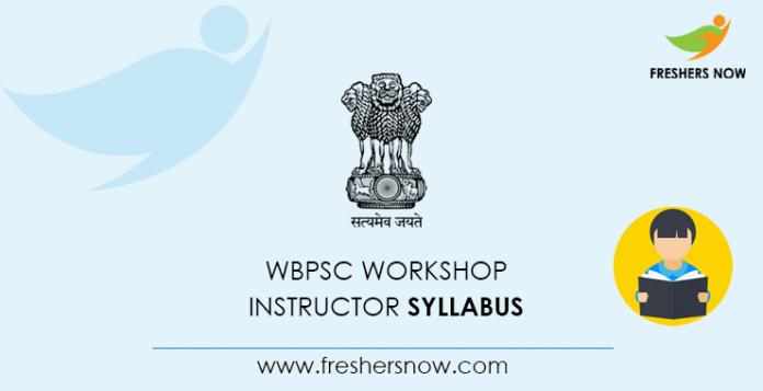 WBPSC Workshop Instructor Syllabus 2020