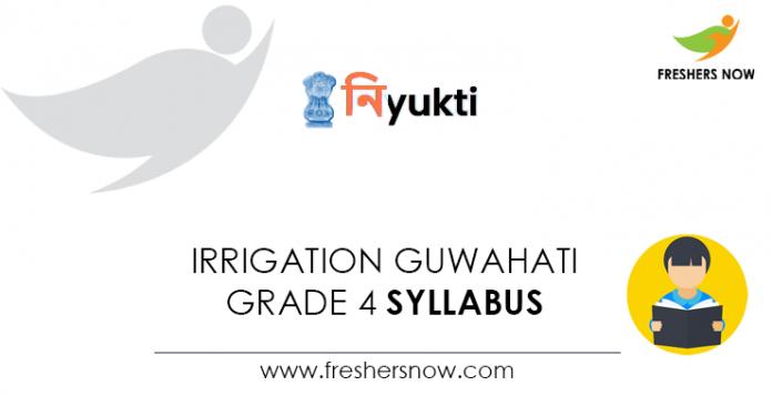 Irrigation Guwahati Grade 4 Syllabus