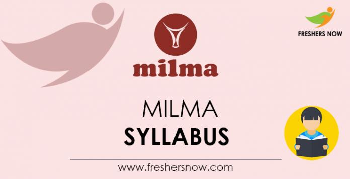 MILMA-Syllabus