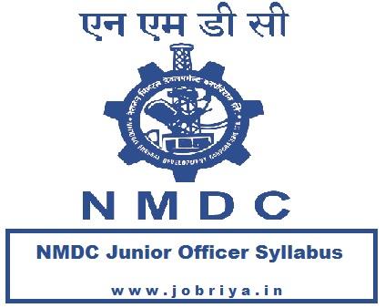 NMDC Junior Officer Admit Card 2021 JO Trainee CBT Exam Date